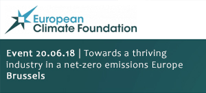 Event 20-06-2018: Towards a thriving industry in a net-zero emissions Europe